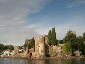 11 - Chateau de La Napoule from Mediterranean