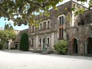 8 - Front Entrance Chateau de La Napoule