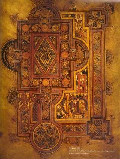 Book of Kells, The Abbey Studio, Trinity College