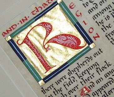 Maryanne Grebenstein, illuminated manuscripts