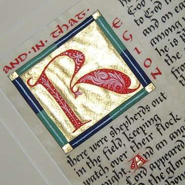 Maryanne Grebenstein, illuminated manuscripts