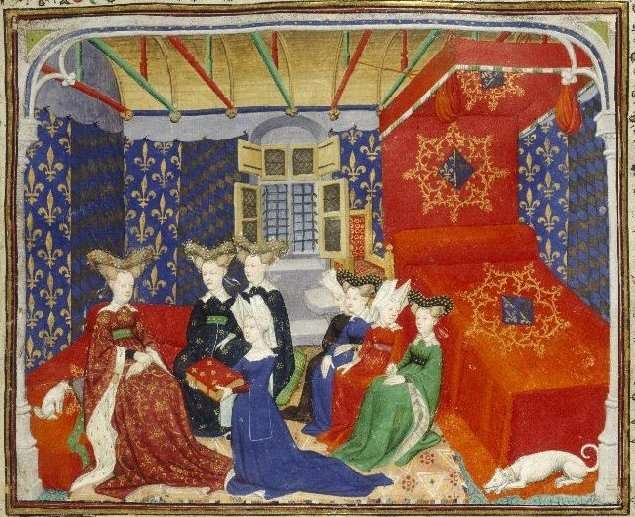 Christine de Pisan, Christine de Pizan, medieval, manuscripts, The Book of the Queen