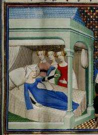 Christine de Pisan, Christine de Pizan, medieval, manuscript, A Medieval Woman's Mirror of Honor