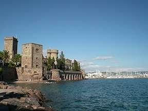 Chateau de La Napoule, Mandelieu, south of France, French Riviera