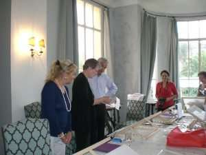 Château de la Napoule, The Abbey Studio, Calligraphy, classroom abroad