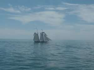 Tall Ship off Nantucket, MA, The Abbey Studio