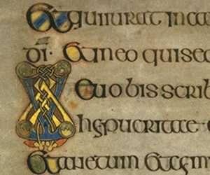 Book of Kells, St Matthew's gospel