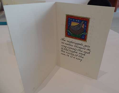books, bookbinding, book design, golden rule, golden mean, The Abbey Studio, calligraphy