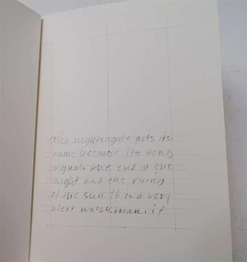 books, bookbinding, book design, golden rule, golden mean, The Abbey Studio, calligraphy