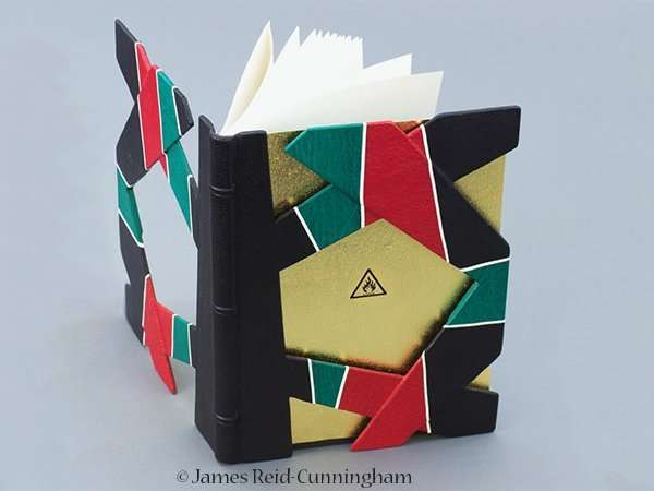 The Abbey Studio, bookbinding, gallery, exhibition, show, James Reid-Cunningham