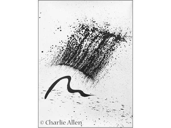 Brush Strokes, Charlie Allen, art exhibition