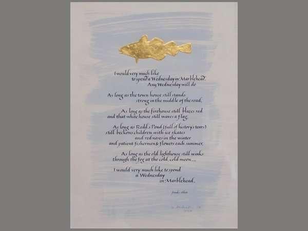 Marblehead Poem, Wednesday in Marblehead