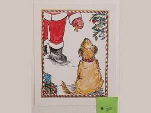 Holiday Card Contest; The Abbey Studio