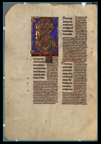 The Abbey Studio; glossed psalter