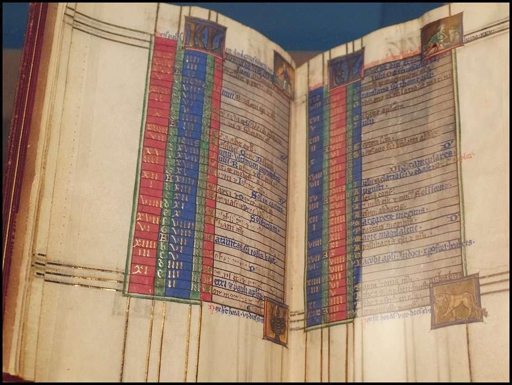 15th-century manuscript MS M730 from The Morgan Library