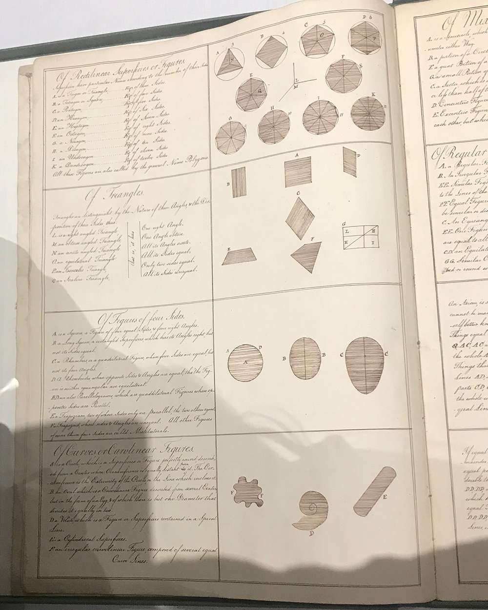 Text and illustrations from Lydia Bishop manuscript, The Abbey Studio