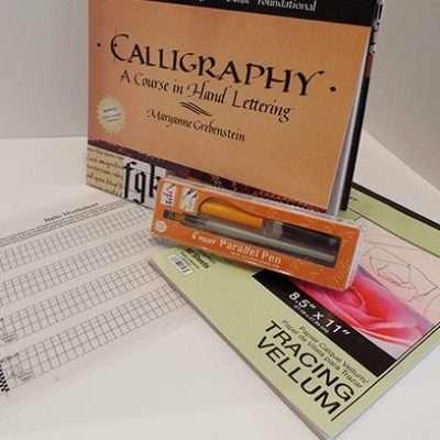Italic Supply Kit; The Abbey Studio