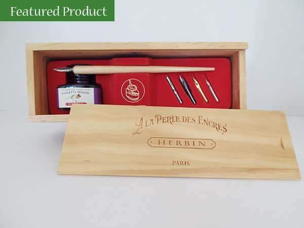 Herbin Pen and Ink Set; The Abbey Studio