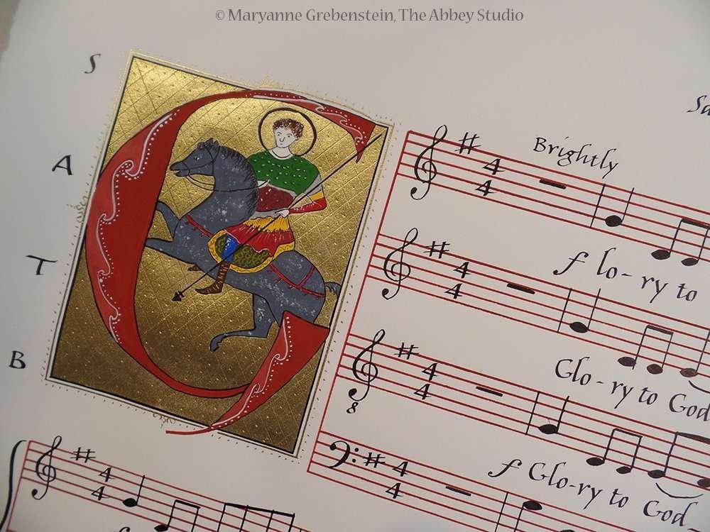Calligraphy, The Abbey Studio, Marblehead, MA