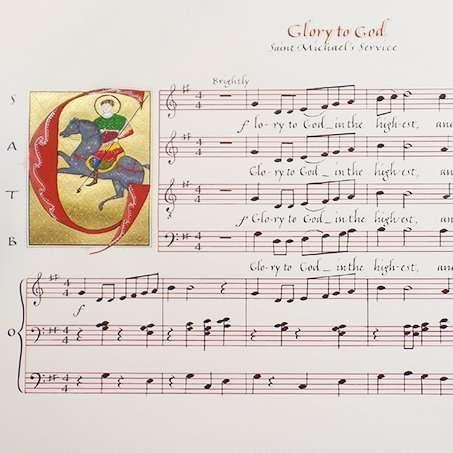Saint Michael's Musical Piece
