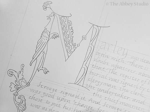 Perfecting Pencil Work; The Abbey Studio