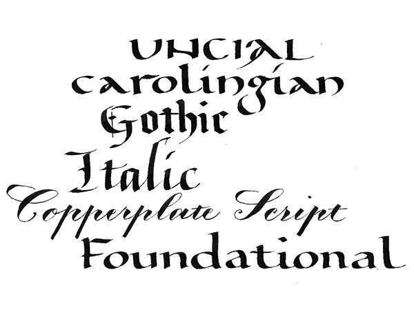 Calligraphy Intensive